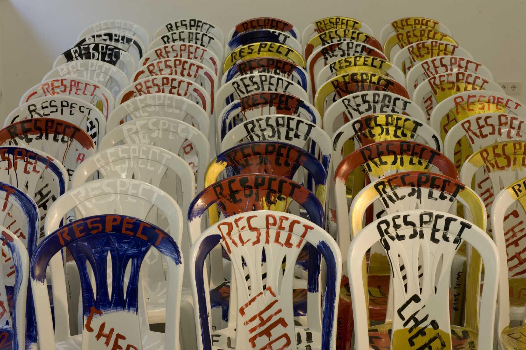 Marti Guixé, Statement chairs. Respect cheap furniture